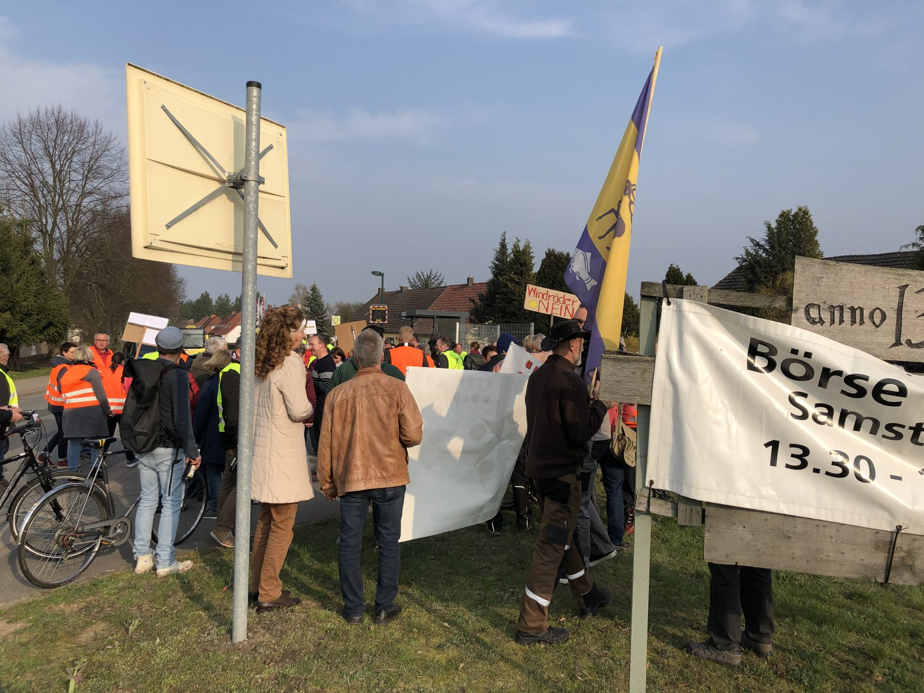 Demo Wessin Moratorium Windenergie Freier Horizont