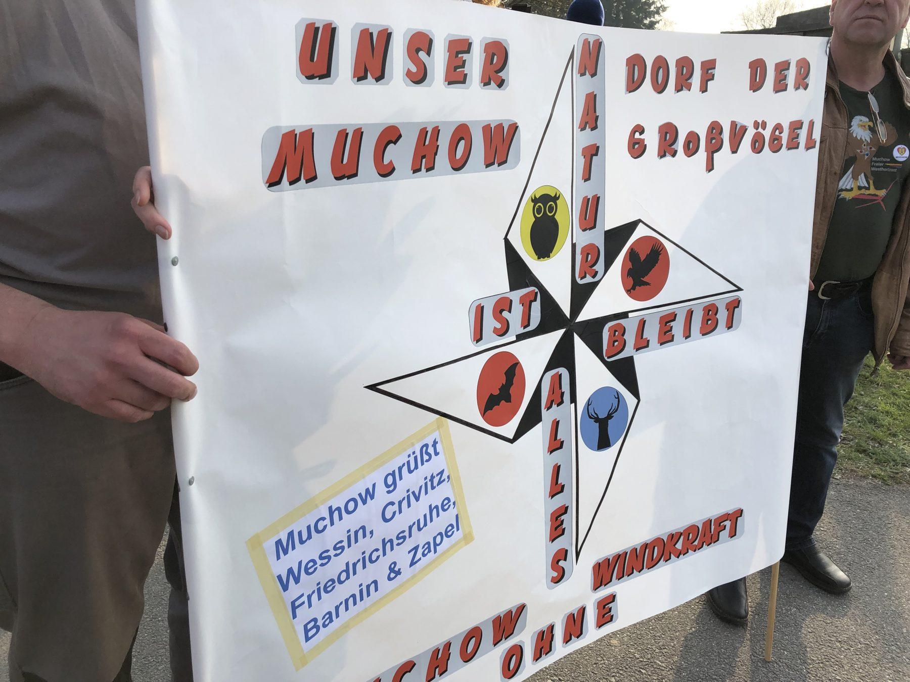 Demo Wessin für Moratorium Windenergie Freier Horizont